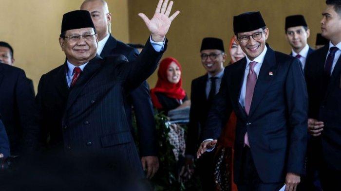 Begini Respon Prabowo Soal Isyarat Jokowi Sandi Menang Pilpres 2024