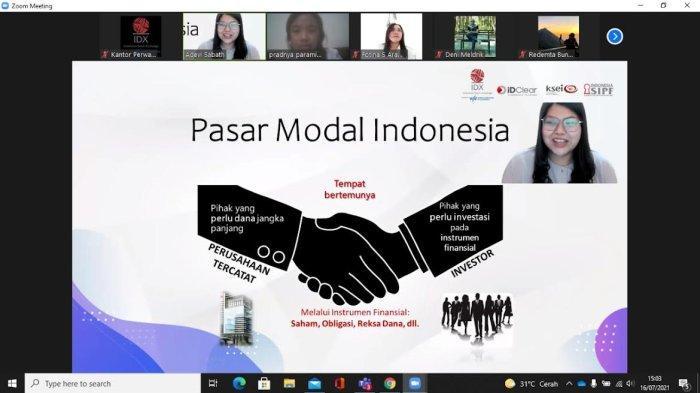 Perwakilan Bursa Efek Indonesia NTT Beri Edukasi Belajar Saham Bareng