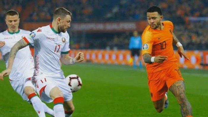 LIVE! Link Streaming Mola TV & Live Score Jerman vs Belanda Kualifikasi Piala Eropa 2020 Sesaat Lagi