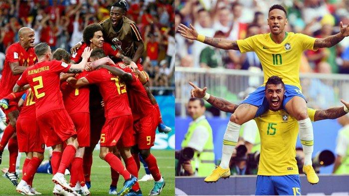 Hasil Pertandingan Brasil vs Belgia, Belgia Melaju ke Semifinal Hadapi Prancis