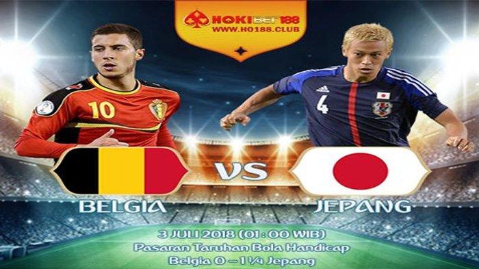 LIVE Trans TV, Prediksi Belgia vs Jepang Pukul 01.00 WIB Malam Ini, Samurai Biru Bertekad Menang