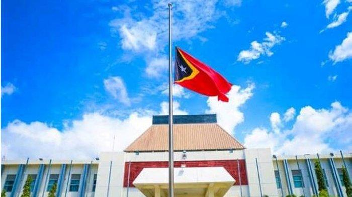 Timor Leste Kibarkan Bendera Setengah Tiang Tanda Berkabung atas Meninggalnya Jorge Sampaio