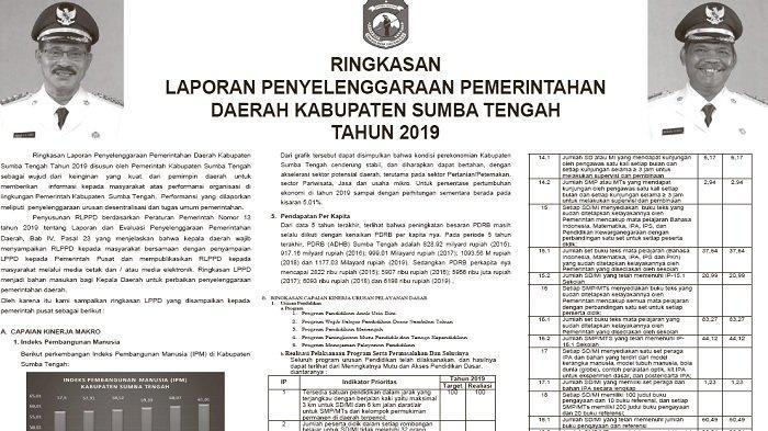 Berikut Laporan RLPPD atau ILPPD Kabupaten Sumba Tengah, Simak Rinciannya!