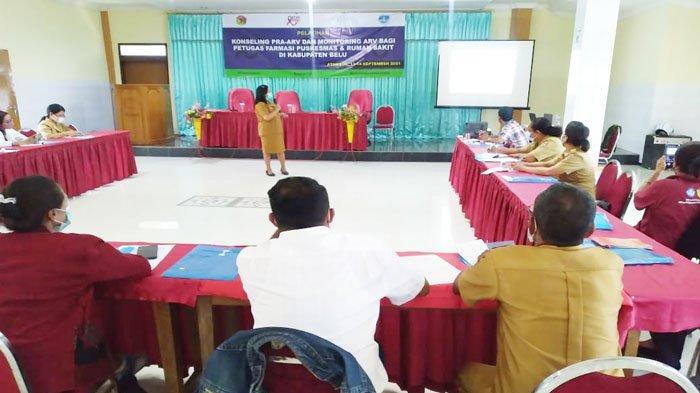 Bethesda Beri Pelatihan Konseling dan Monitoring ARV Bagi Petugas Farmasi di Belu