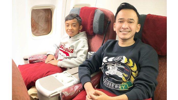 Ruben Onsu Bawa Betrand Peto ke Pabrik Ayam di Surabaya, Anak Angkat Tanya Pekerjaan Suami Sarwendah
