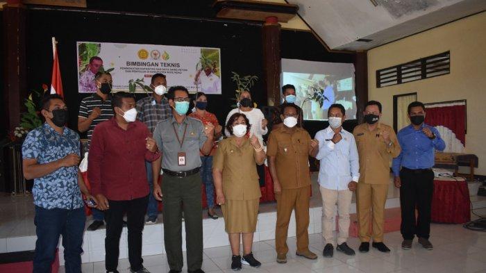 Kementan dan Komisi IV DPR RI Tingkatkan Kapastitas Petani Milenial dan Penyuluh di Rote Ndao