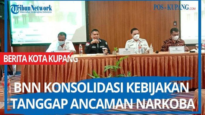 Kegiatan Konsolidasi Kebijakan Kota Tanggap Ancaman Narkoba Pada Sektor Kelembagaan di Kota Kupang, Kamis 29 April 2021.