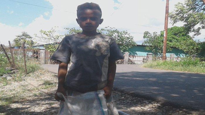 Putus Sekolah dan Jadi Tulang Punggung Keluarga, ini Kerinduan Terdalam Bocah Pemulung Tanpa Ayah