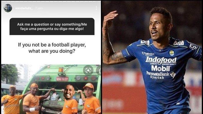 Bomber Persib Bandung Jadi Tukang Sampah, Karena Galau Turnamen Liga 1 Belum Digelar, CEK Instagram