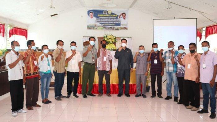 BPPSDMP Kementan-Komisi IV DPR RI Bimtek Peningkatan Kapasitas Petani dan Penyuluh di Kupang
