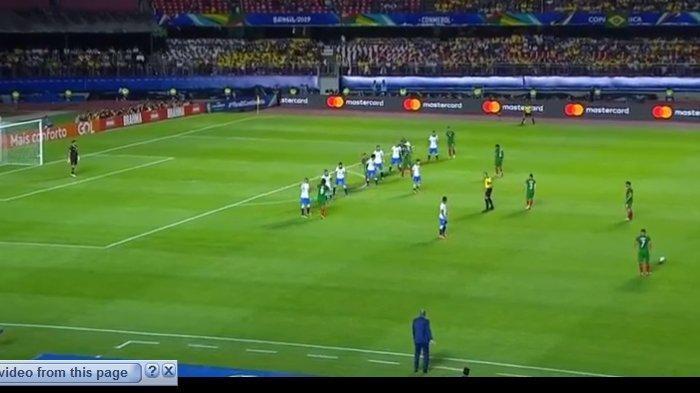 SEDANG BERLANGSUNG Live Streaming Brasil vs Bolivia di Copa America 2019, Skor Sementara 0-0