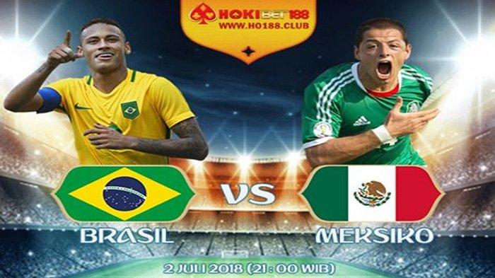 LIVE Trans TV Babak 16 Besar Piala Dunia 2018, Brazil vs Meksiko Pukul 21.00 WIB Malam Ini