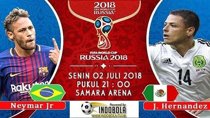LIVE Trans TV! Begini Cara Menonton Live Streaming Laga Brazil vs Meksiko Pukul 21.00 WIB Malam Ini