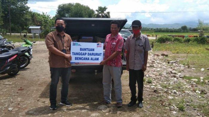 BRI Cabang Atambua dan Yayasan BRIKasih Bantu Korban Bencana Malaka dan Belu