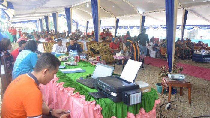 BRI Cabang Bajawa Laksanakan Undian Panen Hadiah Simpedes Semester II di Mbay