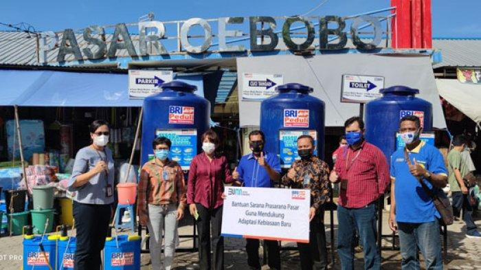 BRI Peduli Pencegahan Covid-19 di Kota Kupang