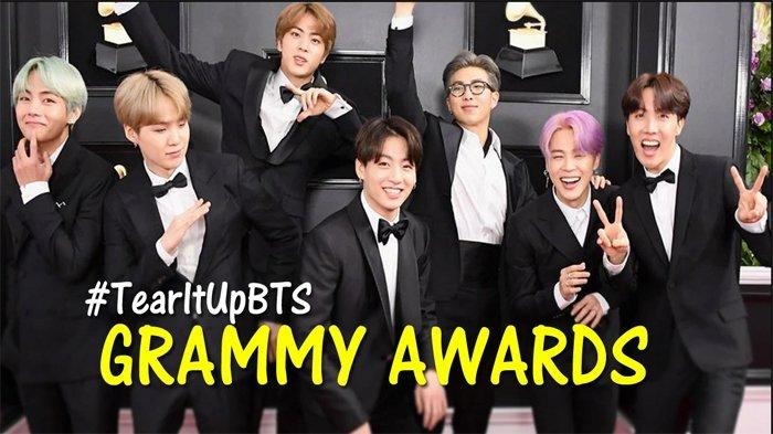 15 Momen Tak Terlupakan BTS di Grammy Awards 2019, Bocoran Comeback dan Jungkook Berbahasa Inggris!