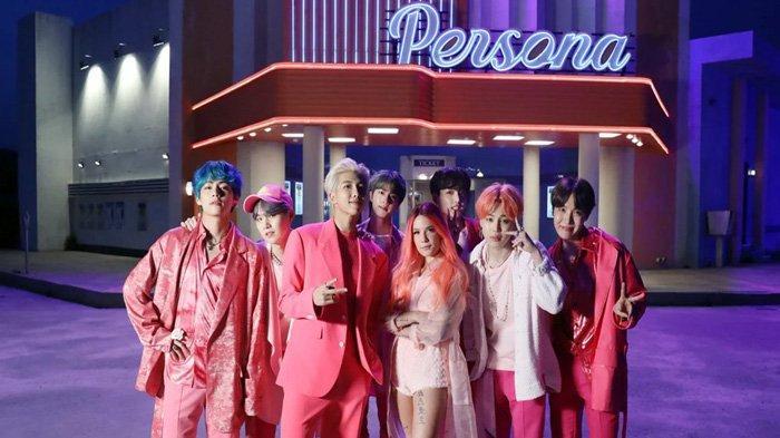 BTS Resmi Comeback, Inilah Lirik Lagu Boy With Luv feat Halsey Lengkap Terjemahan Indonesia