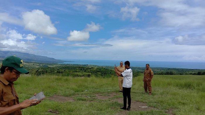 TRIBUN WIKI : Bukit Teleng Bagaikan Surga Kecil di Ujung Timur Batas Manggarai Timur