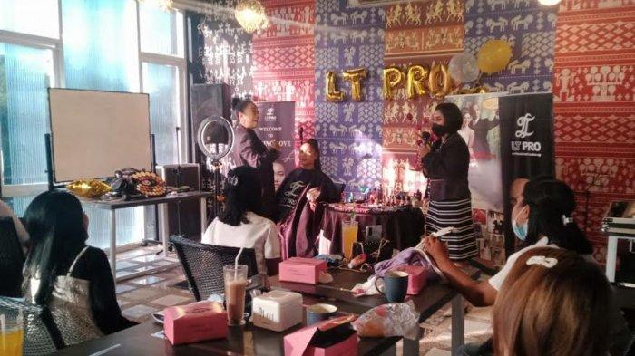 LT Pro Pairing Love Belajar Bersama Bunda Dewi Perias Profesional NTT