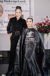 Bunda Dewi Lamabelawa dan LT Pro Gelar Workshop Wedding Make UpLook