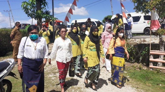 Bunda Paud Sumba Barat Dampingi Tim PKK Tebo, Jambi Berkunjung ke Paud HI Surya Harapan