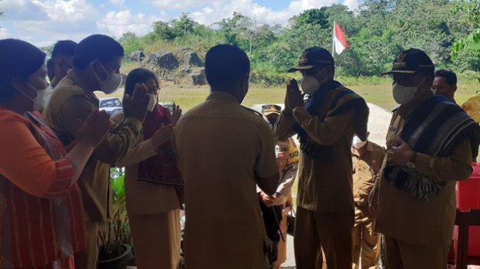 Bupati dan Wabup Sumba Barat Janji Terus Berjuang Perbaiki Ruas Jalan Waikabubak-Waibangga