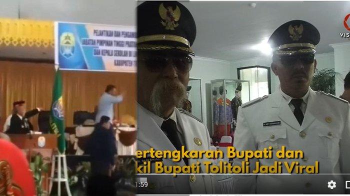 Nyaris Adu Jotos dengan Wakilnya, Bupati Tolitoli Adukan Abdul Rahman ke Polres, Nonton Videonya