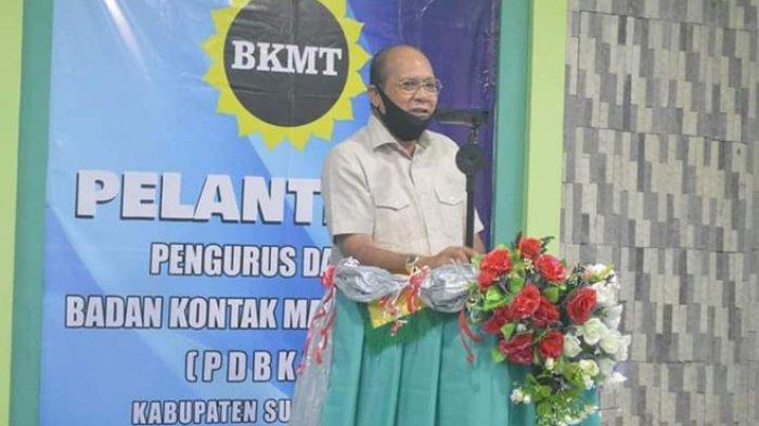 Bupati Dapawole Hadiri Pelantikan Pengurus Daerah BKMT
