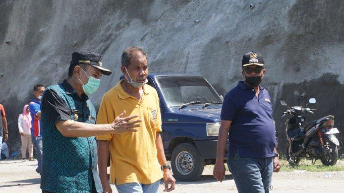 Bupati Djafar Pantau Lokasi Longsor di Ndao Ende, 'Kita Upayakan Hari ini Juga Selesai'