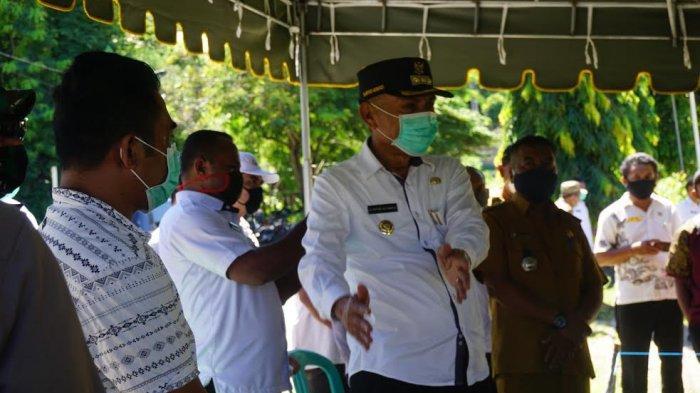 Bupati Ende Djafar Achmad Pantau Posko Covid-19 di Desa hingga Perbatasan dengan Sikka