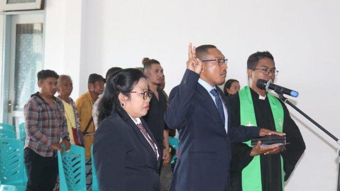 Pelantikan Dirut PDAM Kupang Tanpa Kehadiran Wabup dan Pimpinan DPRD