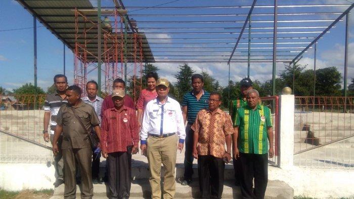 Bupati Malaka Tinjau Tiga Lapangan Pertandingan ETMC, Begini Kesiapan Tuan Rumah Terkini