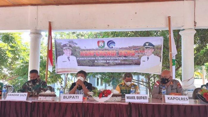 Bupati SBD Kembali Perpanjang PPKM Hingga 21 September 2021