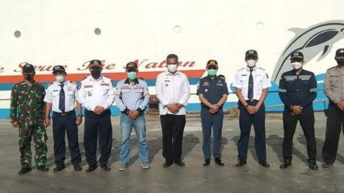 Bupati Sikka Ajak Warga Manfaatkan Kapal Dharma Kartika III Untuk Berlayar dari Maumere-Makassar