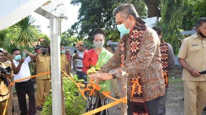 Kunker Bupati Sikka ke Mapitara, Jaringan Telekomunikasi Hadir di Desa Hebing dan Natakoli