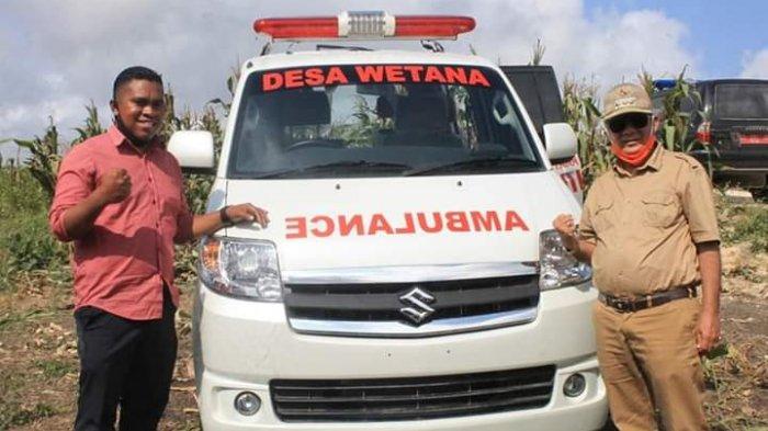 Bupati Niga Puji Kades Weetana Sediakan Ambulance Desa