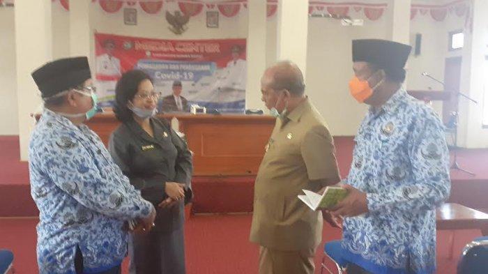 Cegah Penularan Virus,Bupati Sumba Barat Perintahkan Razia Masker di Posko Perbatasan SB-SBD&SB;-ST