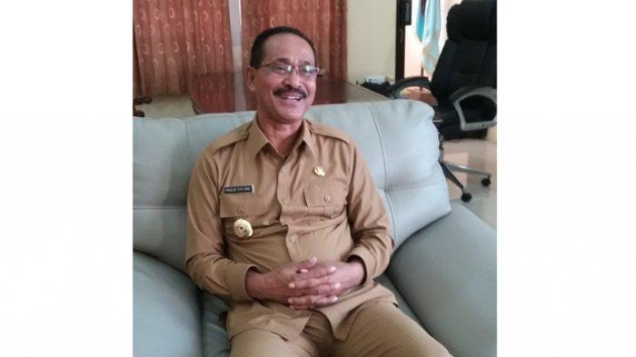 Cegah Penyebaran Civid -19, Pemkab Kabupaten Sumba Tengah Semprot Desinfektan