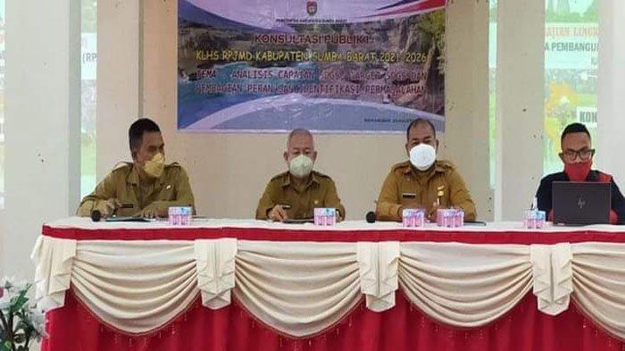 Bupati Yohanis Buka Kegiatan Konsultasi Publik Penyusunan KLHS RPJMD Sumba Barat