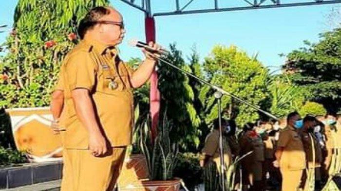 Bupati Yohanis Ingatkan Pimpinan OPD Jaga Komitmen Terhadap Tugas dan Tanggung Jawab