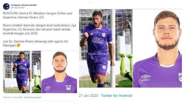 Arema FC Deal Stoper dan Striker Asing di Bursa Transfer Pemain LIga 1 2020, 1 Eks Persib Maung