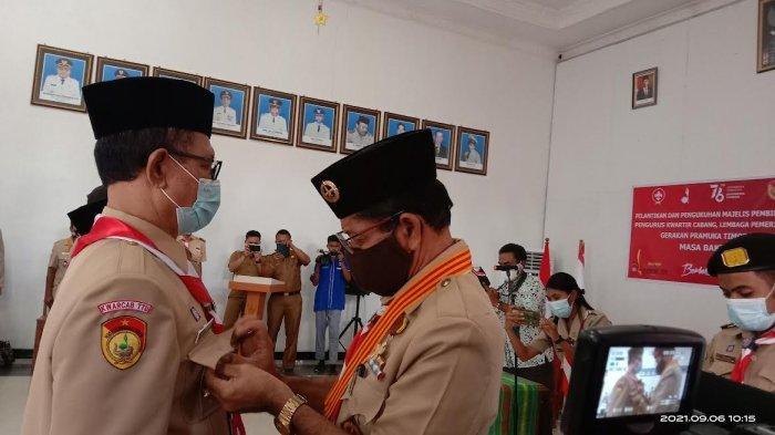 Vaksin Dosis Bagi Warga Kota Kupang Capai 39 Persen