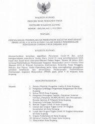 Wali Kota Kupang Tegaskan Pelaku Perjalanan Wajib Bebas Covid-19
