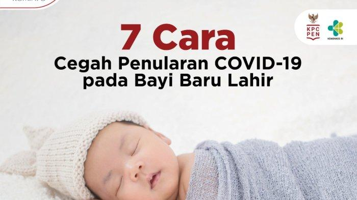 Begini Cara Sederhana Cegah Covid-19 Pada Bayi Baru Lahir
