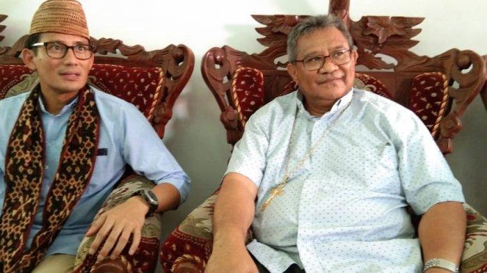 Lihat Wajah Uskup Maumere, Sandiaga Mengaku Sudah Senang