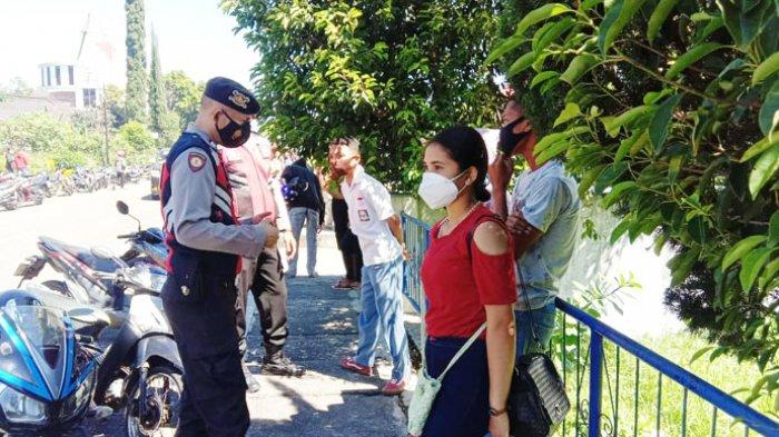Cegah Gangguan Kamtibmas dan Penularan Covid-19, Polres Manggarai Patroli Penertiban Prokes