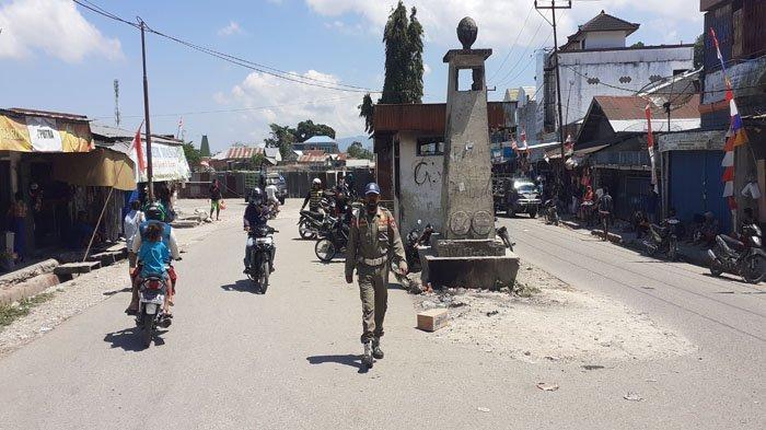 Cegah PKL Berjualan, Siagakan Satpol Di Pasar Lama Dan Kompleks Pertokoan