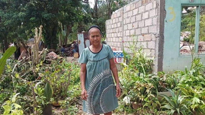 Cerita Pilu Seorang Nenek di Kupang Hidup Sebatang Kara, Rumah Hancur Diterpa Badai