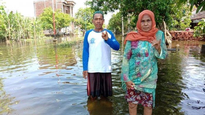 Cerita Warga Mencoblos Pemilu 2019 di Tengah Banjir